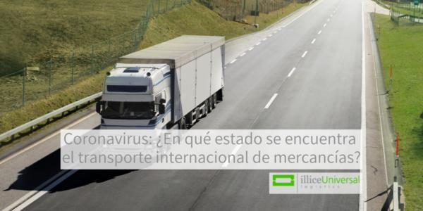 Coronavirus: ¿En qué estado se encuentra el transporte internacional de mercancías?