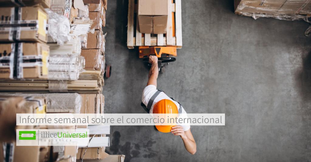 Informe semanal sobre el comercio internacional